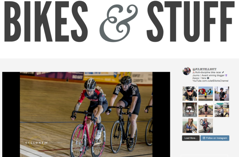 The author of Bikes-n-Stuff, Juliet Elliot, is said to be the 'most influential women in cycling'. She is a former pro snowboarder and a model and her love for outdoors has led her to love and take cycling as her passion.