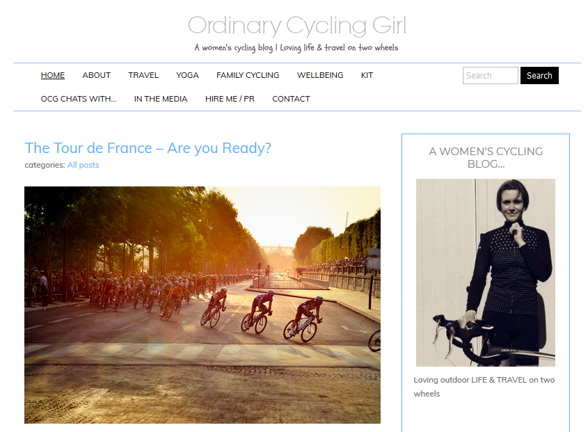 Ordinary Cycling Girl