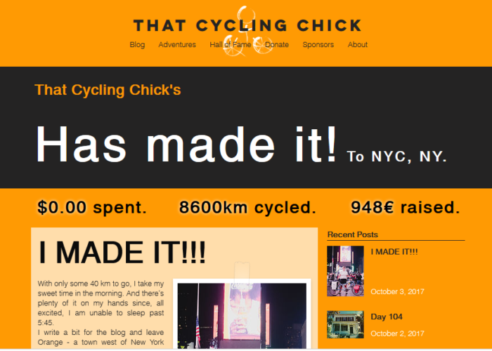 That Cycling Chick