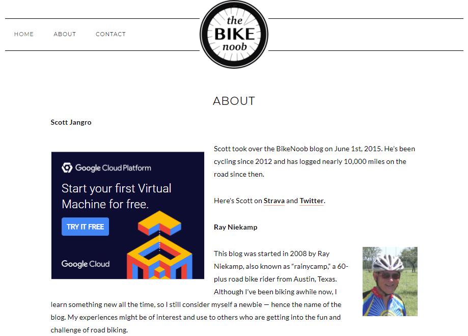 The Bike Noob