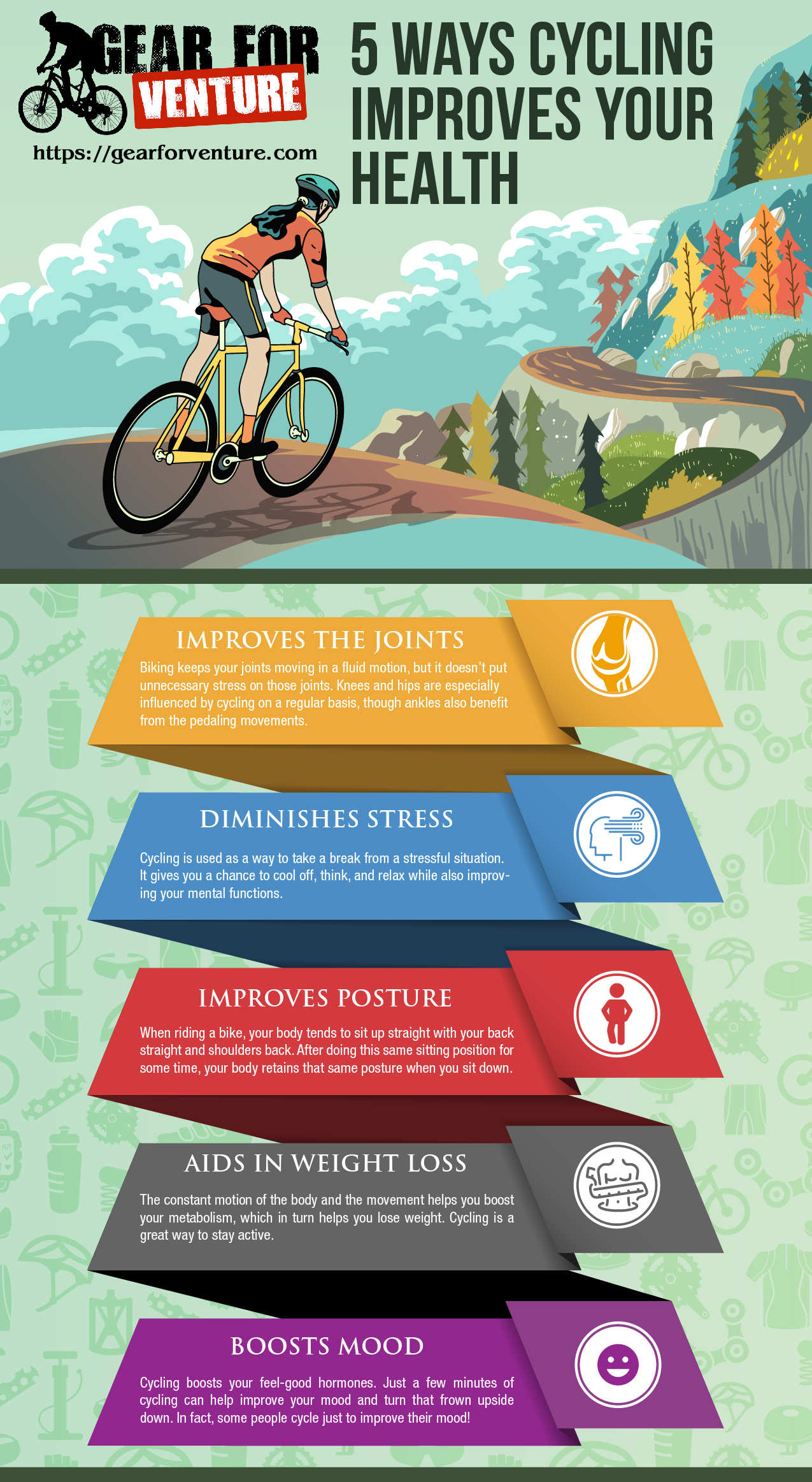 5 Ways Cycling Improves Your Health