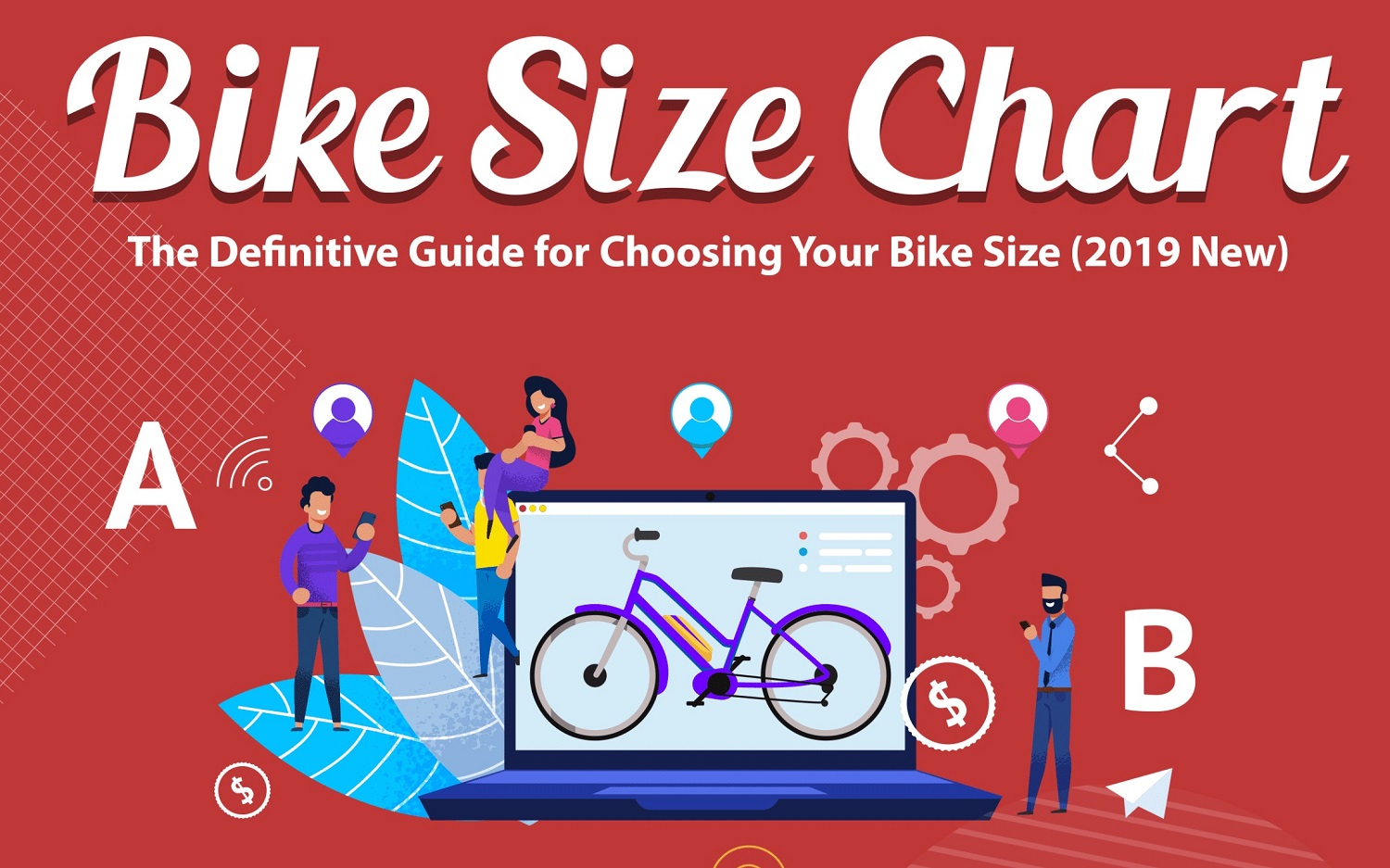 Bike Size Chart Guide [Guest Infographics]