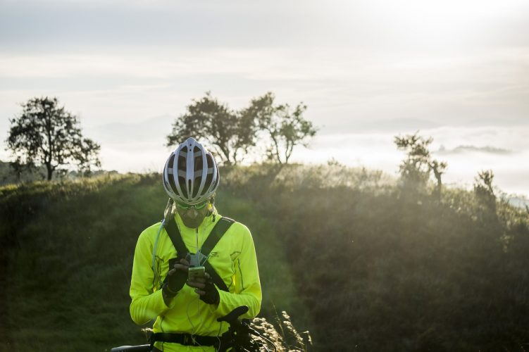 What are mountain bike helmets made of?