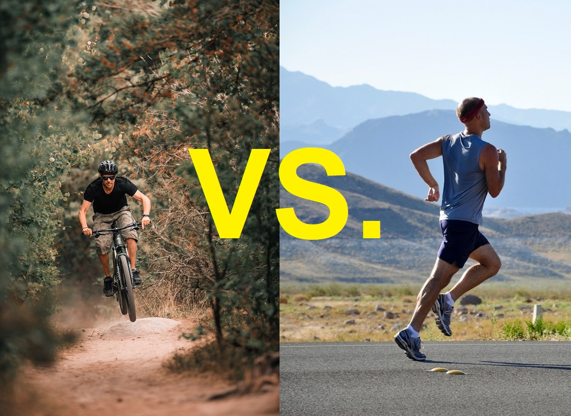 Is Mountain Biking Better Than Running?  [Guest Post]