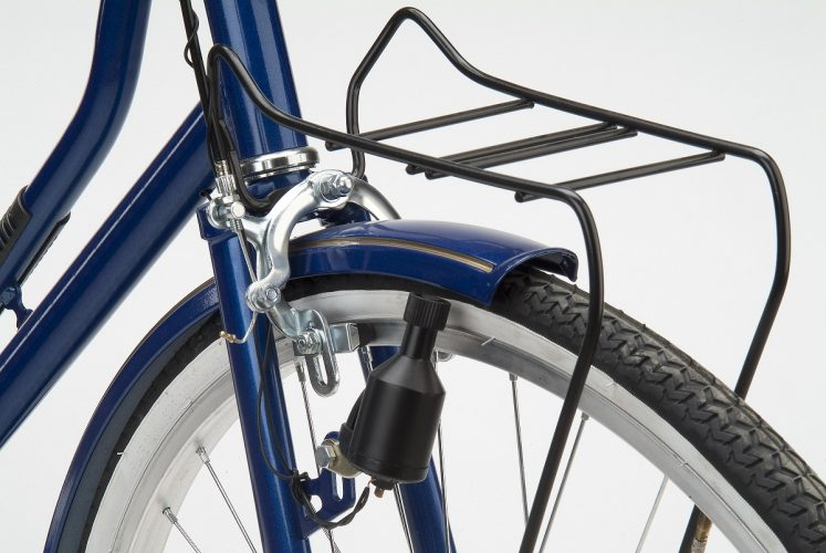 How to attach bag to bike rack