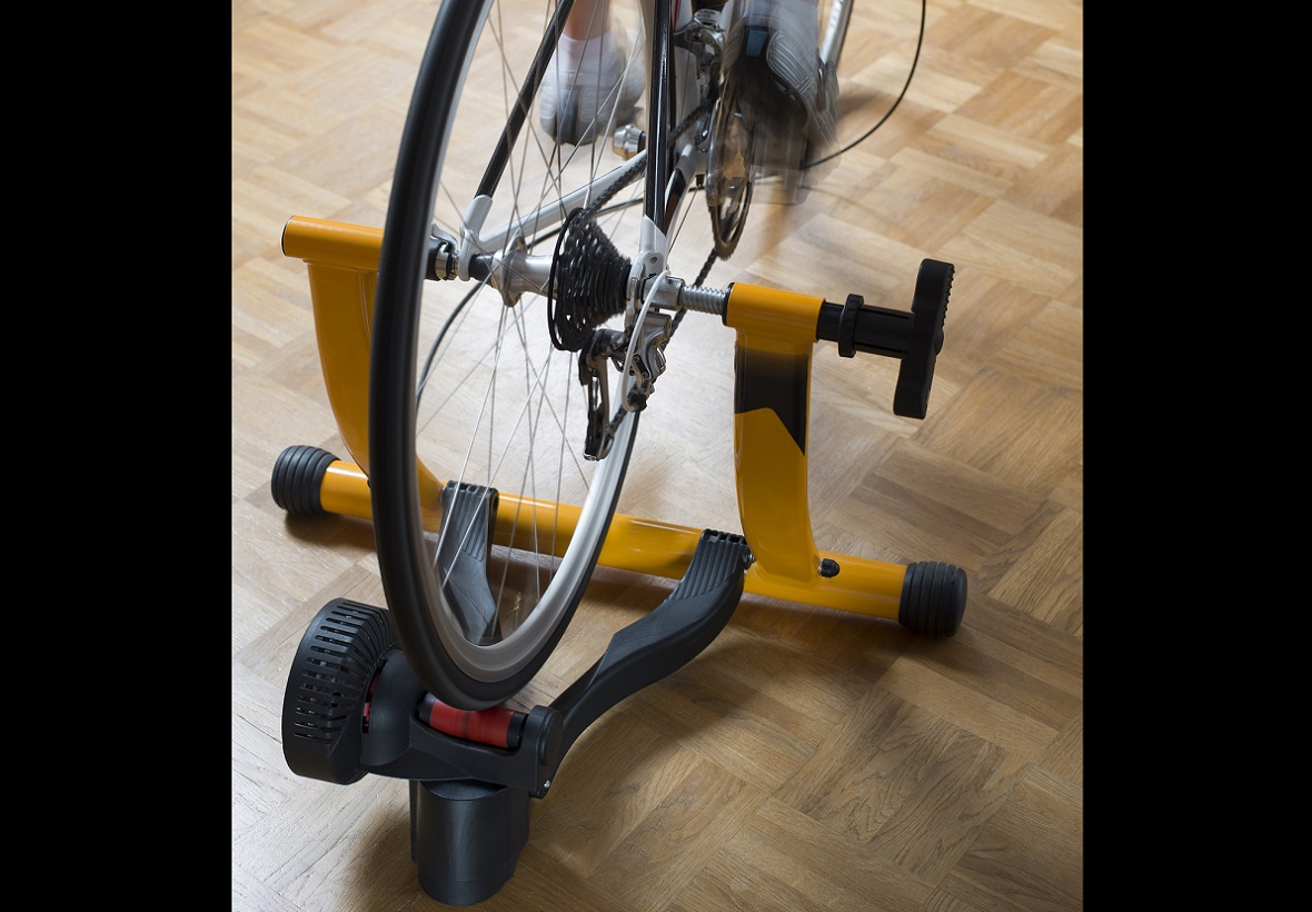 How to measure distance on an indoor bike trainer