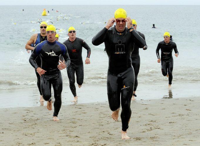 Can you wear bike shorts triathlon swimming