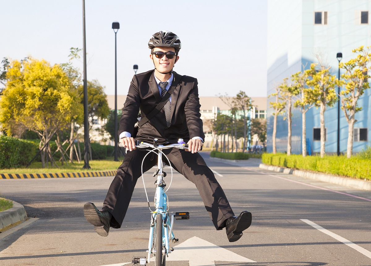 Surprising Health Benefits of Cycling to Work