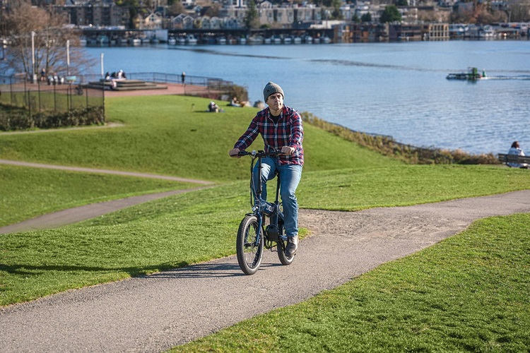 Riding an Electric Bike for the First Time