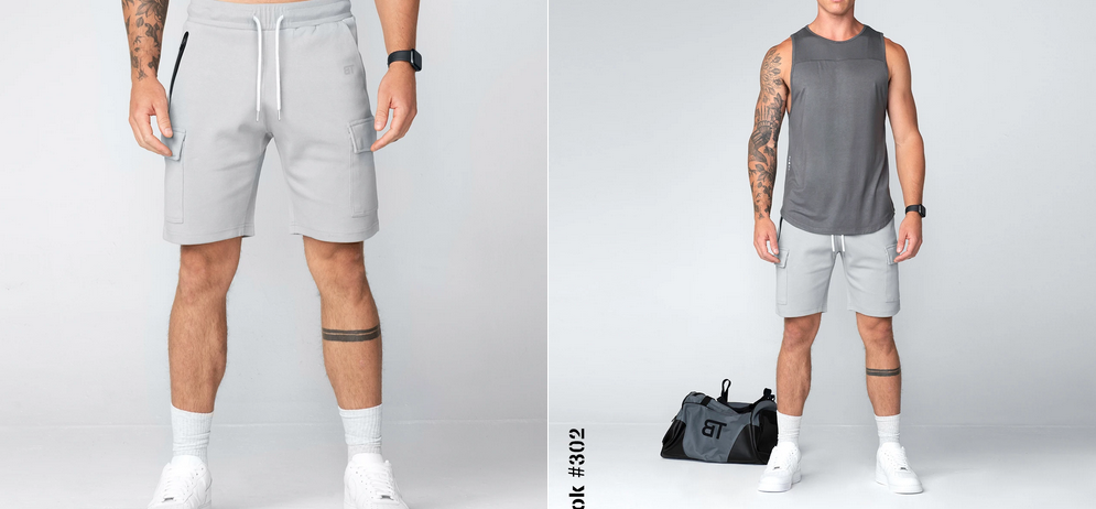 Workout Shorts for Guys Cargo Pants